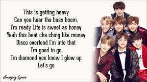 Dynamite - BTS (Lyrics) - YouTube