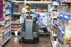 cleaning robots ing to polk walmarts