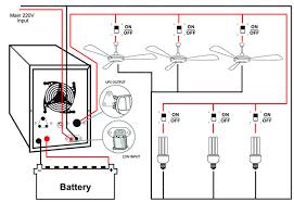 ups inverter urdu hindi guide for india, pakistan and bangladesh inverter wiring diagram for home filetype pdf at House Wiring Diagram With Inverter