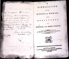 women s movement overview history facts com title page of the 1792 american edition of mary wollstonecraft s a vindication of the rights of ""
