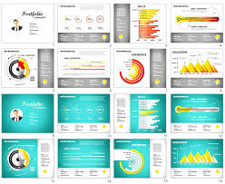 Powerpoint Resume Sample Powerpoint Template Resume Presentation Slideshow Sample Shortcut 11