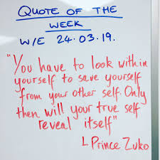 When You Get To Choose The Inspirational Quote At Work Avatar