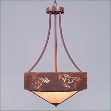 ridgemont foyer chandelier large tall shade bottom horse cutout