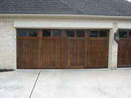 Custom Wood Doors - Overhead Door Company of Houston