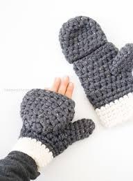 Free Crochet Mitten Patterns Beauteous Millbrook Chunky Mittens Happy Hooker Pinterest Free Crochet