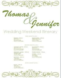 best 25 wedding itinerary template ideas on pinterest wedding Wedding Week Itinerary Template sage wedding itinerary template download template on bridetodo com wedding week itinerary template design