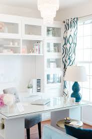 turquoise office decor. Clean, Sleek Office Tour With Lacoya Heggie Turquoise Office Decor