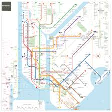a reimagined nyc subway map now with a more accurate brooklyn