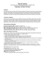 Sample Of Video Resume Script