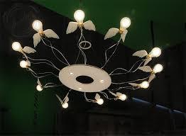 ingo maurer bir s ring 12 light round chandelier