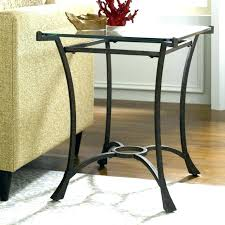 end tables metal wood side table and contemporary rectangular with glass top coffee small garden oak