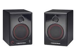 xd5 cerwin vega 2 way powered desktop speakers