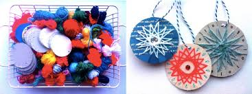 Button Christmas Wreath Craft  Wreaths Crafts Wreaths And CanvasesEasy Christmas Craft Ideas To Sell