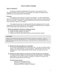 Brilliant Ideas Of Splendid Objective Section Of Resume Spectacular