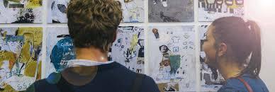 fine art ma postgraduate diploma postgraduate certificate uwe  picture of people looking around an art gallery