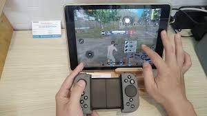 Tay cầm chơi game handjoy tmax chơi Pubg mobile trên iOs iPhone, iPad dùng  touchpad cảm ứng - YouTube