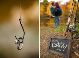 fishing themed wedding. Fishing theme wedding photos with the Fraser in the background by