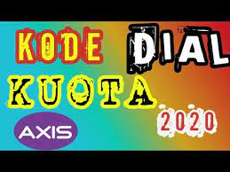 Bagi kamu pengguna smartphone yang hobi mendengarkan musik, bermain game, begadang, sampai membuka media sosial. Kode Dial Axis Murah 2020 Youtube