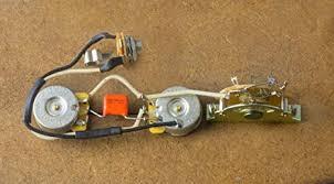 amazon com fender telecaster wiring harness for fender tele cts 4L60E Wiring Harness at Tele Wiring Harness Upgrade