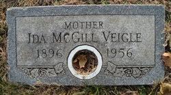 Ida McGill Veigle (1896-1956) - Find A Grave Memorial