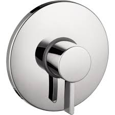 hansgrohe shower valve. Hansgrohe S Pressure Balance 1-Handle Valve Trim Kit In Chrome (Valve Not Included Shower W