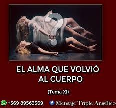 Ley Dominical - EL ALMA QUE VOLVIÓ AL CUERPO (Tema XI)...   Facebook