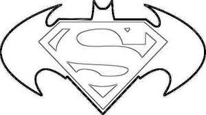 Small Picture Superman Logo Coloring Pages Superman Symbol Coloring Pages For