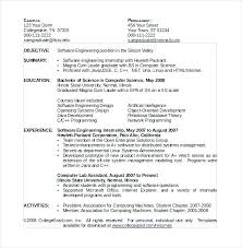 Computer Science Resume Classy Computer Science Resume Sample Computer Science Resume Sample Format