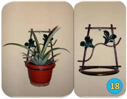 wall mounted planter holder wall mounted plant pot holder wall mounted wire plant holder