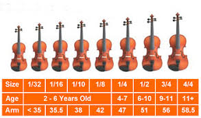 Violin Sizing Larissa Fall