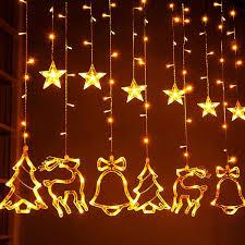 Wedding Tree Lights Christmas Lights Window Curtain String Lights 8 Flashing