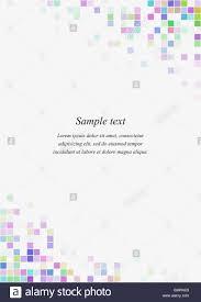 Square Corner Design Colorful Square Page Corner Design Template Stock Vector Art