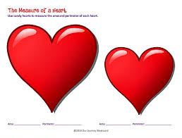 candy heart valentine s day math