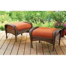 better homes and gardens azalea ridge outdoor ottomans set of 2 com