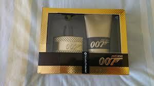 mens james bond 007 gold edition eau de toilette gift set