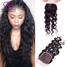 Peruvian Wavy Hairstyles Aliexpresscom Buy Natural Wave Virgin Hair Lace Closure 4x4