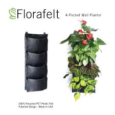 Small Picture Florafelt 4 Pocket Vertical Garden Planter