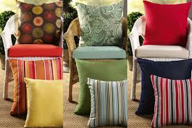 winsome outdoor furniture pillows throw patio replacement wicker home cushion replacements for 17