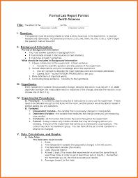 Lab Report Format Brittney Taylor
