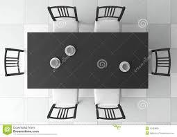 3d dining table stock illustration Illustration of indoor 15403800
