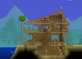 My Expert-Mode Beach House 1.3 : Terraria