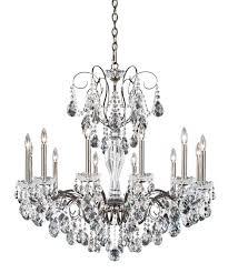 schonbek st sonatina inch wide light chandelier