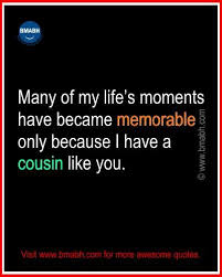 Beautiful Cousin Quotes Best of Best Cute Funny Cousin Quotes And Sayings Pinterest Cousin