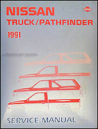 1991 nissan truck and pathfinder wiring diagram manual original 1991 nissan truck and pathfinder repair shop manual original