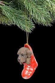 Christbaumschmuck Hund Labrador Im Strumpf