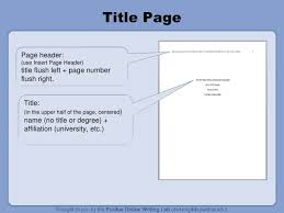 Owl Purdue Research Paper Title Page