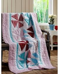 On Sale NOW! 10% Off Cottage Home Piper Cotton Quilted Throw ... & Cottage Home Piper Cotton Quilted Throw Blanket (Throw), Multi Adamdwight.com