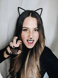 you can barely even call it a costume but it s certainly cat like and great for a quieter all hallows eve following i covet thee s cute cat how to