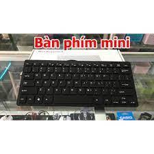 Bàn phím Mini K1000/ Tika dùng cho PC/ Laptop - Phím nhẹ, êm - Full Box,  Bảo Hành 3 Tháng - 1 Đổi 1 - Phụ kiện phím chuột văn phòng