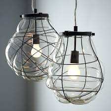 blown glass pendant chandelier exposed light bulbs trend alert glass hand blown glass pendant lights uk
